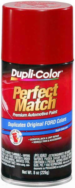 Ford/lincoln Candy Apple Red Auto Spray Paint - 2k/eu/t 1979-1989