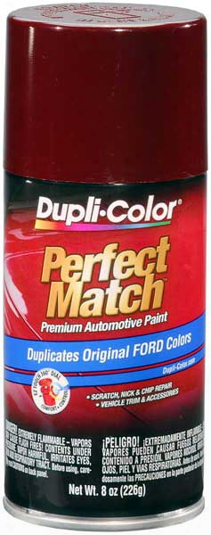 Ford/lincoln Dark Canyon Red Auto Spray Paint -44/2h/eh 1987-1993