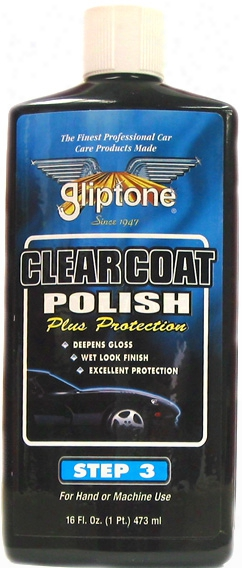 Gliptone Clear Coat Liquid Car Polish Step 3