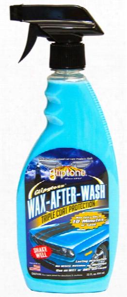 Gliptone Glipgloss Wax After Wash Triple Coat Protection 22 Oz
