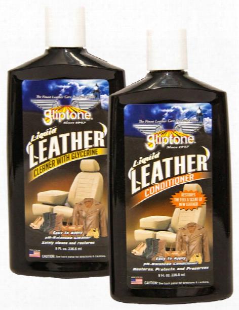Gliptone Leather Care Combination Kit