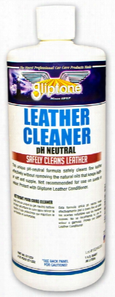 Gliptone Leather Cleaner 32 Oz
