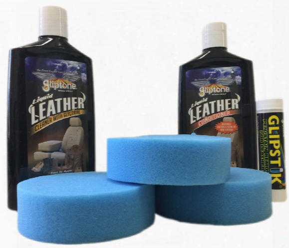 Gliptone Professional 6 Pc. Automotive Leather Care Kit