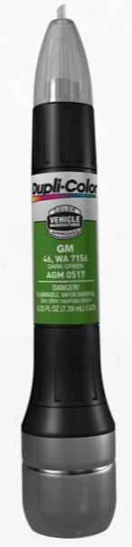 Gm & Isuzu Dark Green All-in-1 Scratch Fix Pen - 46 7156 1985-2010
