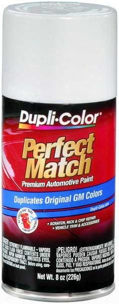 Gm Arctic White Auto Spray Paint -10 2002-2014