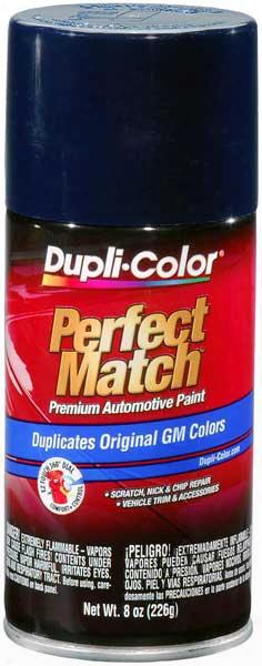 Gm Dark Blue Auto Spray Paint -29 1981-2002