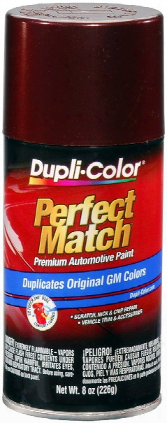 Gm Dark Garnet Red Metallic Auto Spray Paint - 76 1987-1996