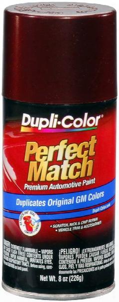 Gm Dark Garnet Red Metallic Auto Spray Paint - 76 1987-1996