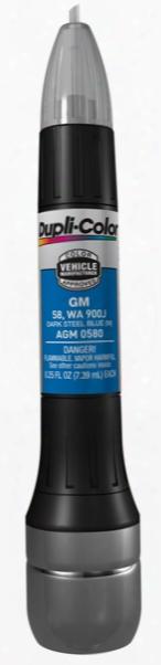 Gm Metallic Dark Steel Blue All-in-1 Scratch Fix Pen - 58 900j 2002-2007