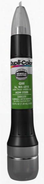 Gm Metallic Dark True Green All-in-1 Scratch Fix Pen - 34 401e 1998-2002