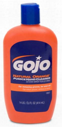 Gojo Natural Orange Pumice Hand Cleaner 14 Oz
