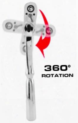 "Great Neck 3/8"" Drive 360 Adjustable Angle Speedyratchet"