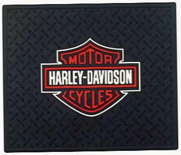 Harley Davidson Rubber Utility Mat