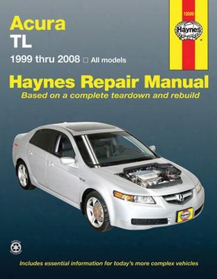 Haynes Repair Manual For Acura Tl 1999-2008