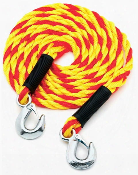 Highland 15 Ft. Tow Rope With Hooks