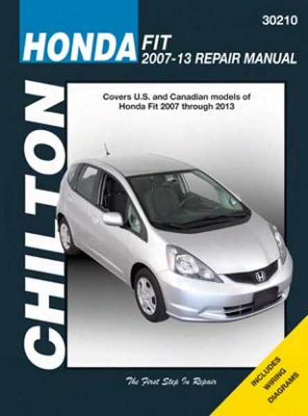 Honda Fit Chilton Repair Manual 2007-2013