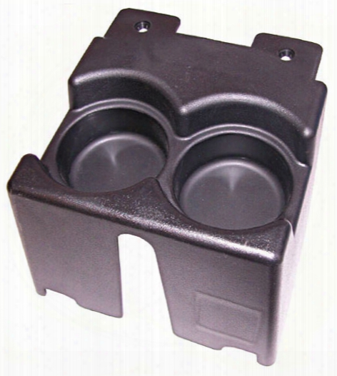 Jeep Cherokee Xj Black Console Dual Cup Holder 1984-2001