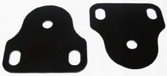 Jeep Cj Black Steel Interior Windshield Brackets 1976-1986
