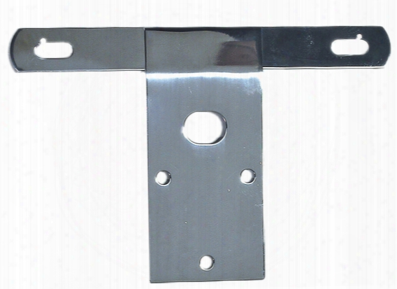 Jeep Cj Stainless Steel License Plate Bracket 1976-1986