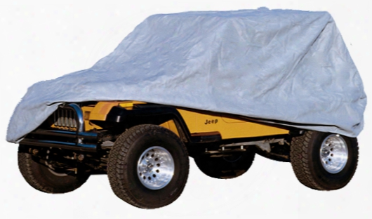 Jeep Wrangler & Cj Three Layer Full Car Cover Kit 1955-2006