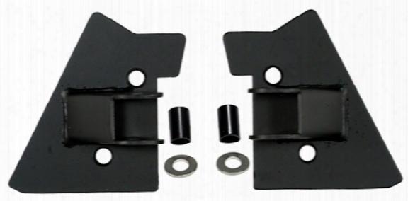 Jeep Wrangler Black Mirror Relocation Brackets-pair 1997-2002