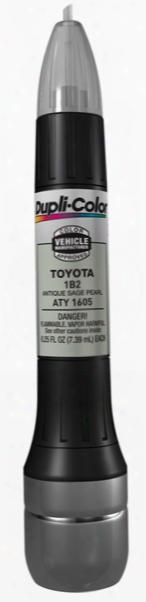 Lexus & Toyota Antique Sage Pearl Alll-in-1 Scratch Fix Pen - 1b2 1997-2001