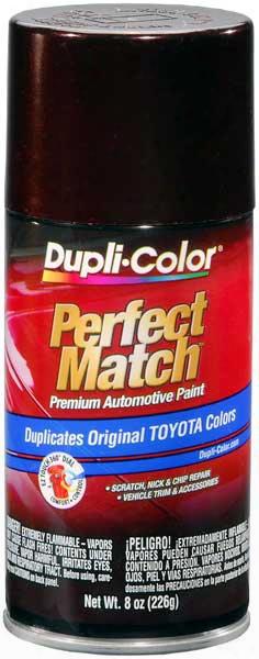 Lexus/toyota Black Garnet Pearl Auto Spray Paint - 3q2 2002-2007