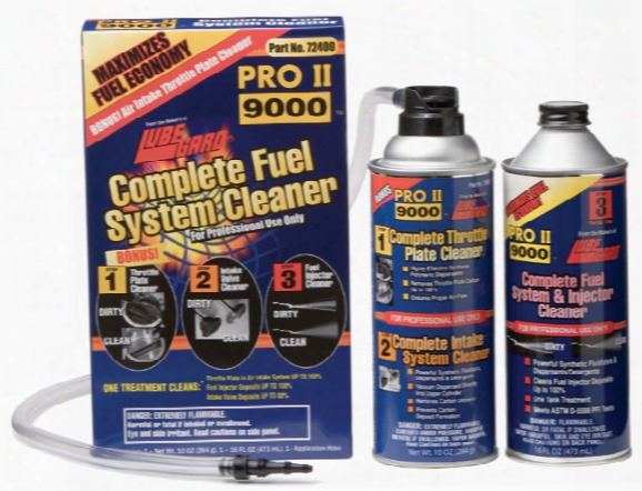 Lubegard Complete Fuel System Cleaner Kit 2 Can