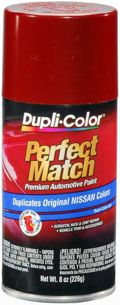 Metallic Cherry Red Pearl For Nissan Auto Spray Paint - Ah3 1989-1997