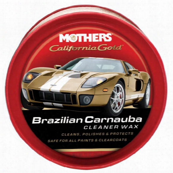 Mothers California Gold Brazilian Carnauba Cleaner Wax 12 Oz.