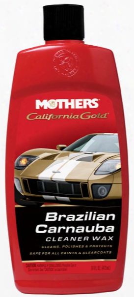 Mothers California Gold Brazilian Carnauba Cleaner Wax 16 Oz.