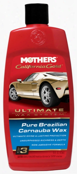 Mothers California Gold Pure Brazilian Carnauba Wax 16 Oz.