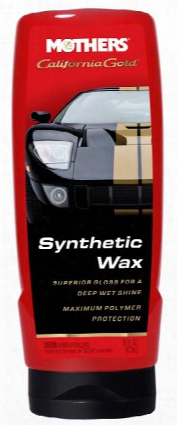 Mothers California Gold Synthetic Liquid Wax 16 Oz