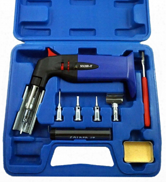 Multi-function Butane Torch & Soldering Iron Kit