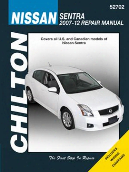 Nissan Sentra Chilton Repair Manual 2007-2012