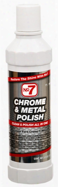 No. 7 Chrome & Metal Polish 8 Oz