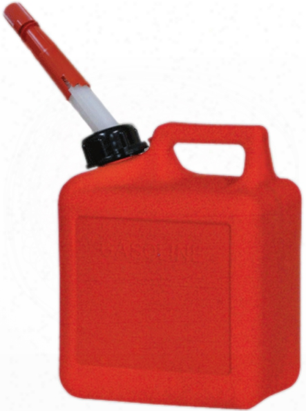 One Gallon Carb Plastic Gas Can