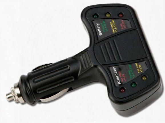 Performance Tool 12v Cigarette Lighter Battery & Alternator Tester