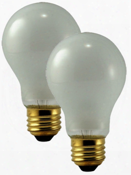 Philips 75 Watt Rough Service Frosted Bulbs Pair
