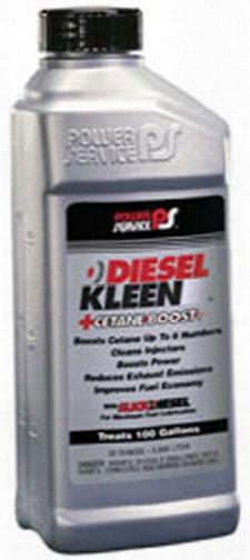 Power Service Diesel Kleen Cetane Boost Fuel Additive 32 Oz.