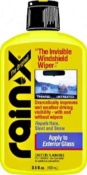 Rain-x Glass Treatment 3.5 Oz.