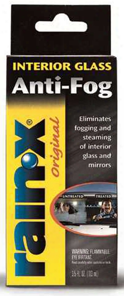 Rain X Interior Window Anti-fog Treatment 3.5 Oz.