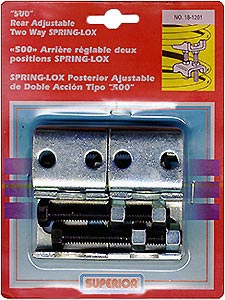 Rear Adjustable 2-way Spring-lox Pair