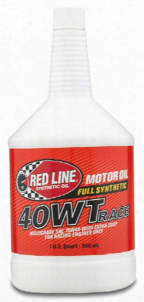 Red Line 40wt Synthetic Racing Oil 1 Qt.