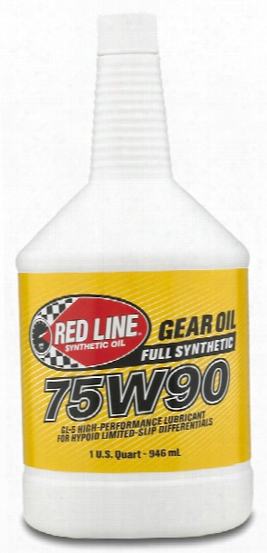 Red Line 75w90 Synthetic Gear Oil 1 Qt.