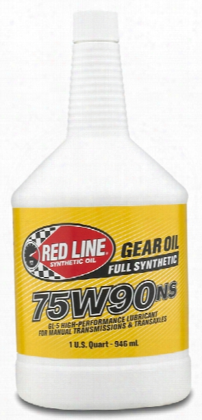 Red Line Synthetic 75w90 Non-slip Manual Transmission Oil 1 Qt.