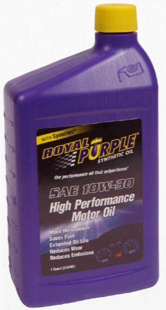 Royal Purple 10w30 Motor Oil 1 Qt.