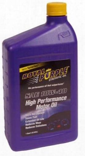 Royal Purple 10w40 Motor Oil 1 Qt.