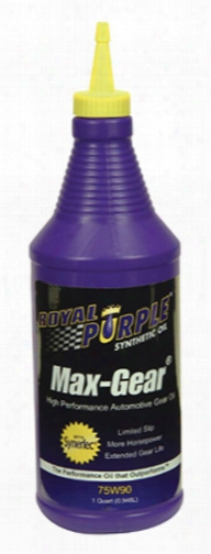 Royal Purple Max Gear Synthetic Gear Oil 75w90