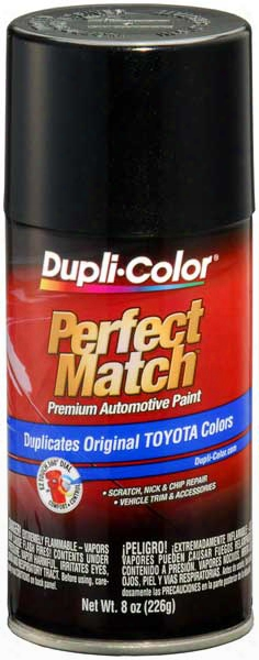 Scion & Toyota Black Mica Auto Spray Paint - 209 2000-2014